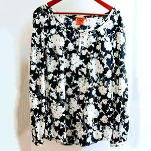 Tory Burch | 8 Silk blouse signature floral print